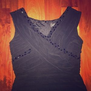Black size: 12 ADRIANA PAPELL dress with jewels